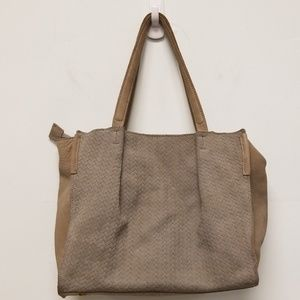 Anthropologie Miss Albright Gray Shoulder Bag